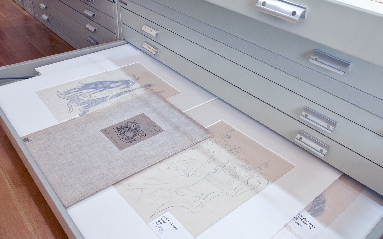 10 Blick in die grafische Sammlung des Kunstmuseums